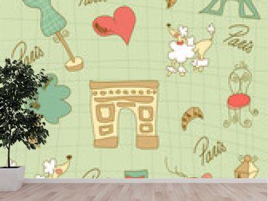 Paris icons design.