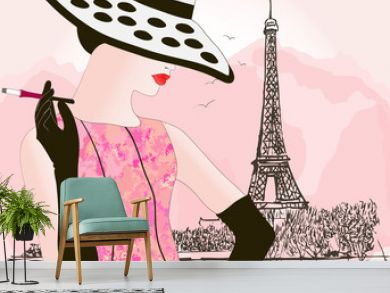 fashion woman in Paris