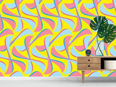 Optical Illusion Seamless Pattern for Hotel, Home and Villa