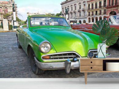 Classic citroen  in Havana.