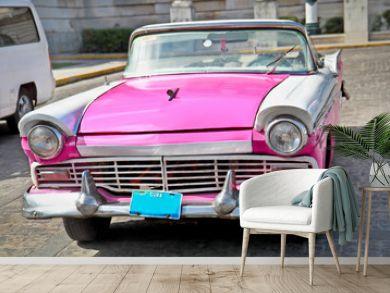 Classic Ford  in Havana, Cuba.