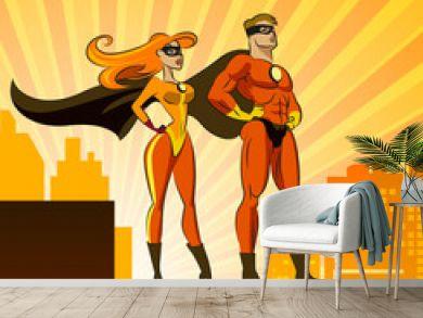 Super Heroes - Male and Female.