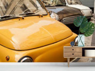 Cars in Rome.