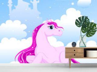 magic pink pony