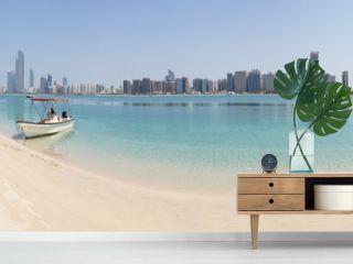 Abu Dhabi Skyline Panorama
