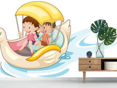 Children in boat