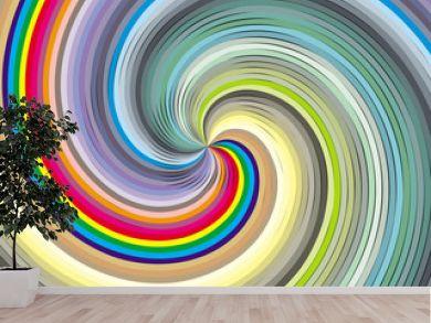 Vortex in colors.