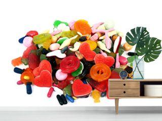 Süßigkeiten auf weiß isoliert