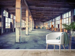 abandoned shoe factory