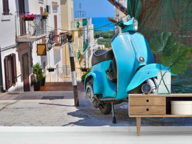 Alleyway. Mattinata. Puglia. Italy.