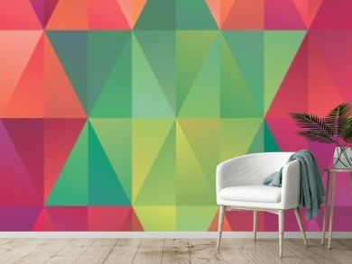 abstract geometric christmas star sign background