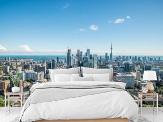 Scenic view of downtown Toronto