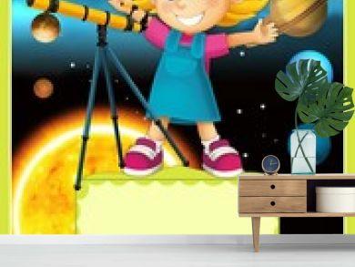 The solar system - milky way - astronomy