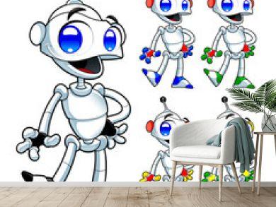 Funny robot.