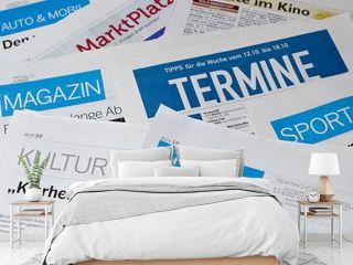 Zeitung Anzeigen Information