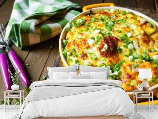 casserole of Fresh vegetable marrows
