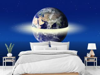 Earth power concept (Some elements used from earthobservatory /