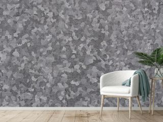 Texture of galvanized iron roof plate background pattern