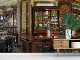 Cafe Demel Wien Innen Panorama