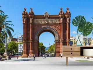 Triumph Arch in Barcelona, Spain