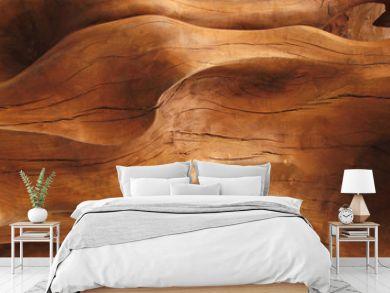 Closeup of wood texture