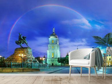 Rainbow over the Monastery Sophievsky