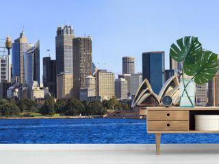 Sydney CBD Day From Boat panorama