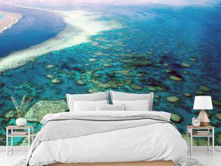 Aerial View Great Barrier Reef Australia-4