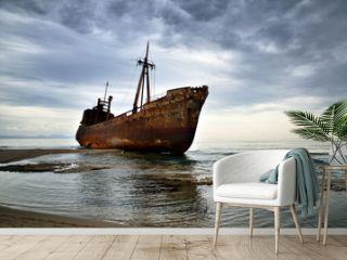 Failure concept, shipwreck