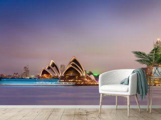 SYDNEY - OCTOBER 12, 2015: The Iconic Sydney Opera House is a mu