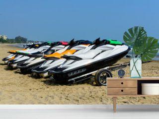 Jetski on the beach for rent