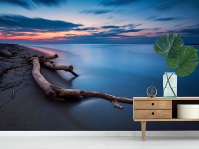 Blue magic - long exposure seascape before sunrise