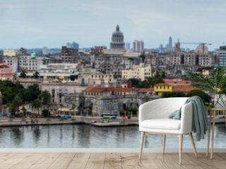 Panoramic view on Havana, Cuba