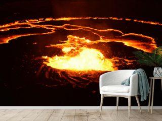 Eruption of Erta Ale
