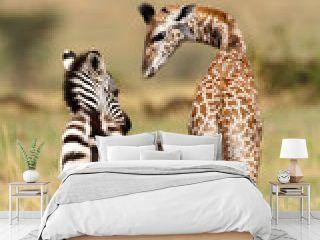 Freunde in der Serengeti