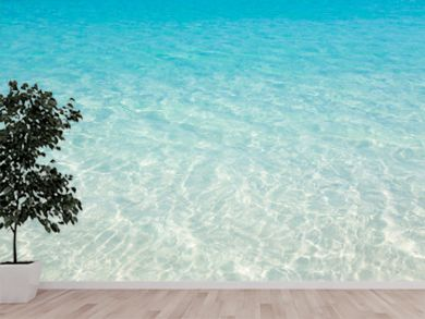 Tropical beach water background