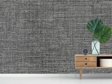 Dark gray fabric pattern, background texture