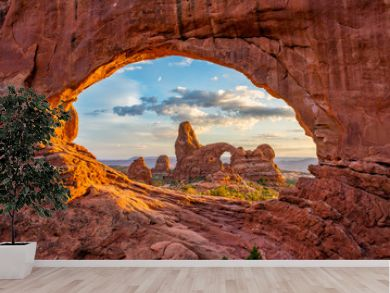 Arches Nationl Park, North Window, Utah