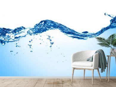 blue water wave liquid splash drink