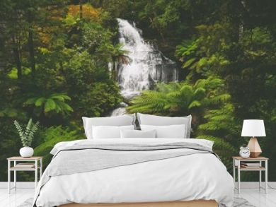 Triplet Falls im Great Otway National Park in Victoria, Australien
