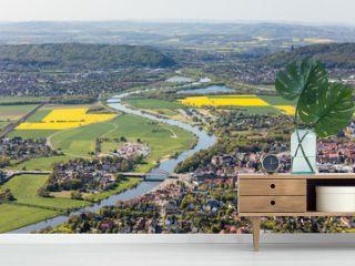 Weser und Porta Westfalica