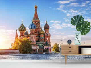 Собор Василия Блаженного и никого S