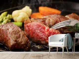 牛ロースステーキ Beef steak