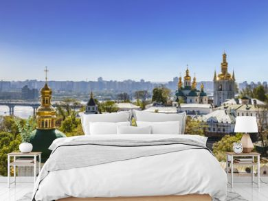 View of the Kiev-Pechersk Lavra, Kiev, Ukraine