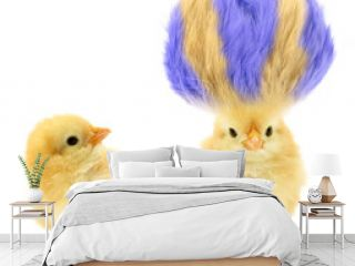 Two chicks one crazy with even crazier hair