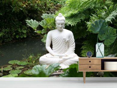 buddha at the lake