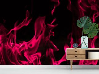 Blaze pink fire background and textured