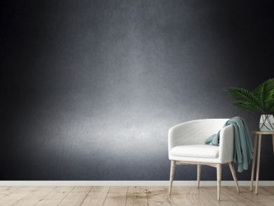 spotlight on a gray material abstract background