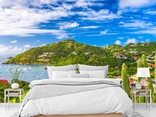 St. Bart's Island in the Caribbean