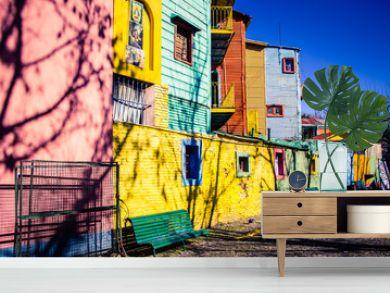 Caminito, The colorful street museum - La Boca - Buenos Aires - Argentina - South America.